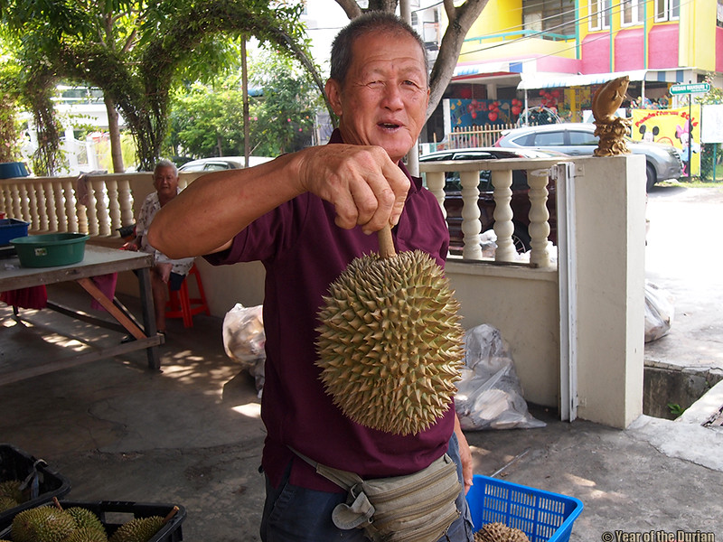 Mr. Chang Poh Beng Durian