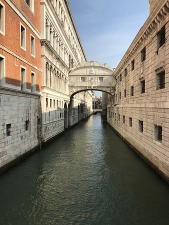 Early morning bridge of Sighs