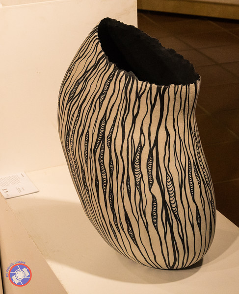 A Modern Piece of Pottery Created by a Quart Artist (©simon@myeclecticimages.com)