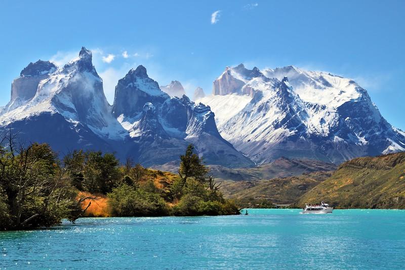 在智利的冰柱上……——海湖的人