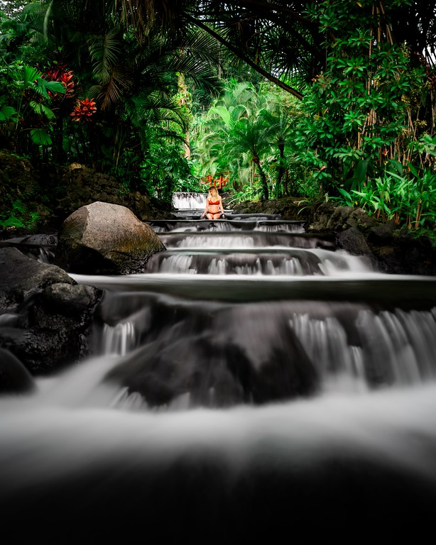 one week costa rica itinerary - hot springs