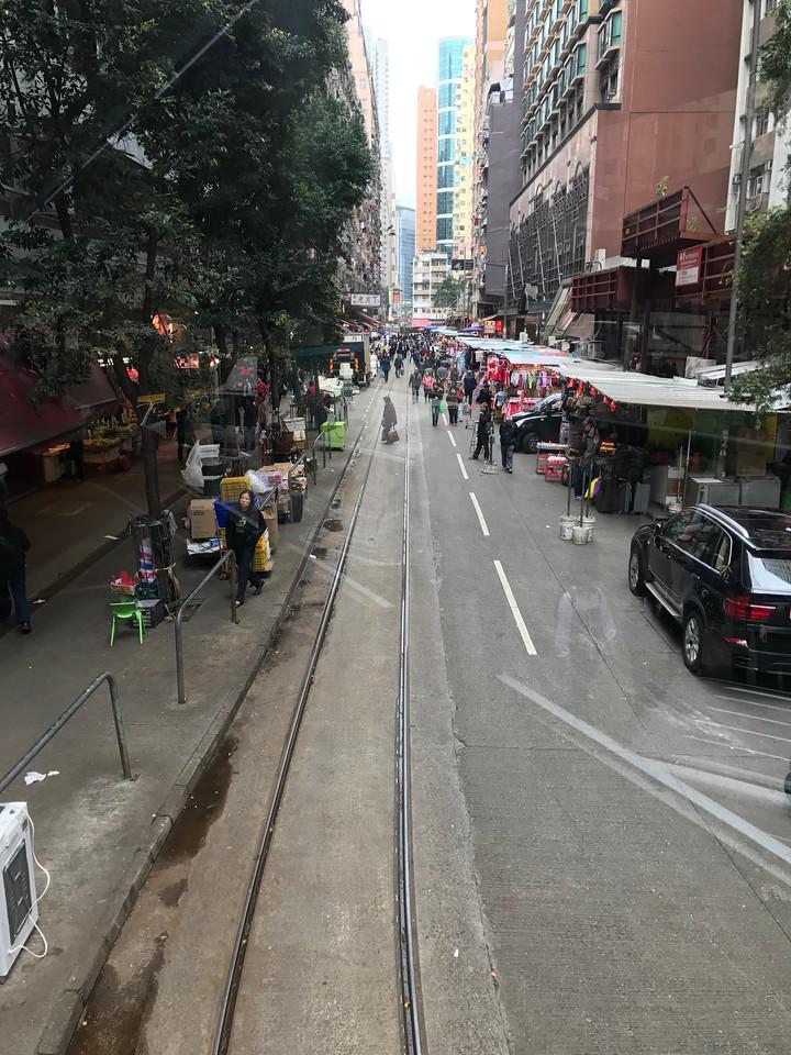 A Ride Through Chun Yeung Street in Hong Kong