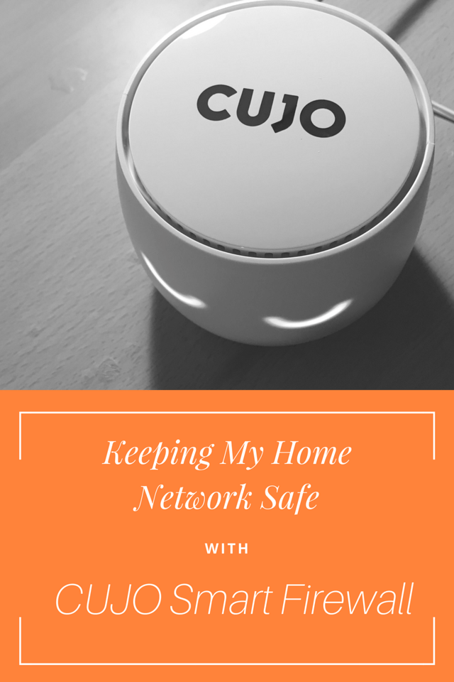 Here's how we keep our home network safe with our CUJO Smart Firewall. It provides business level Internet security and guards all of your devices #ad #CUJO
