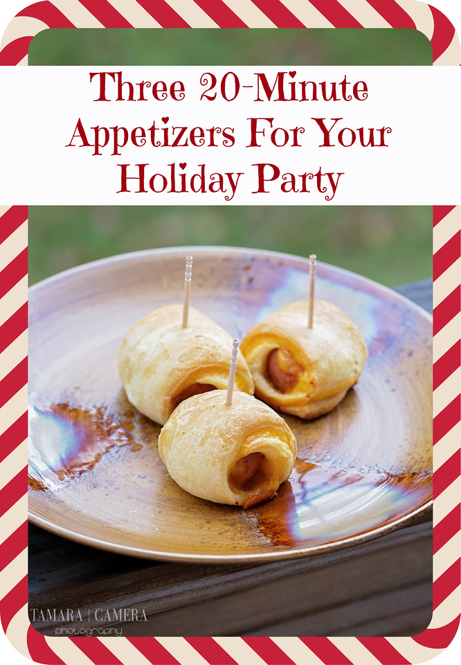 These three 20-minute appetizer #recipes are perfect for any occasion, and to rock your holiday season! Also, enjoy a #Shutterfly #Offer #SavorTheMemory #ad