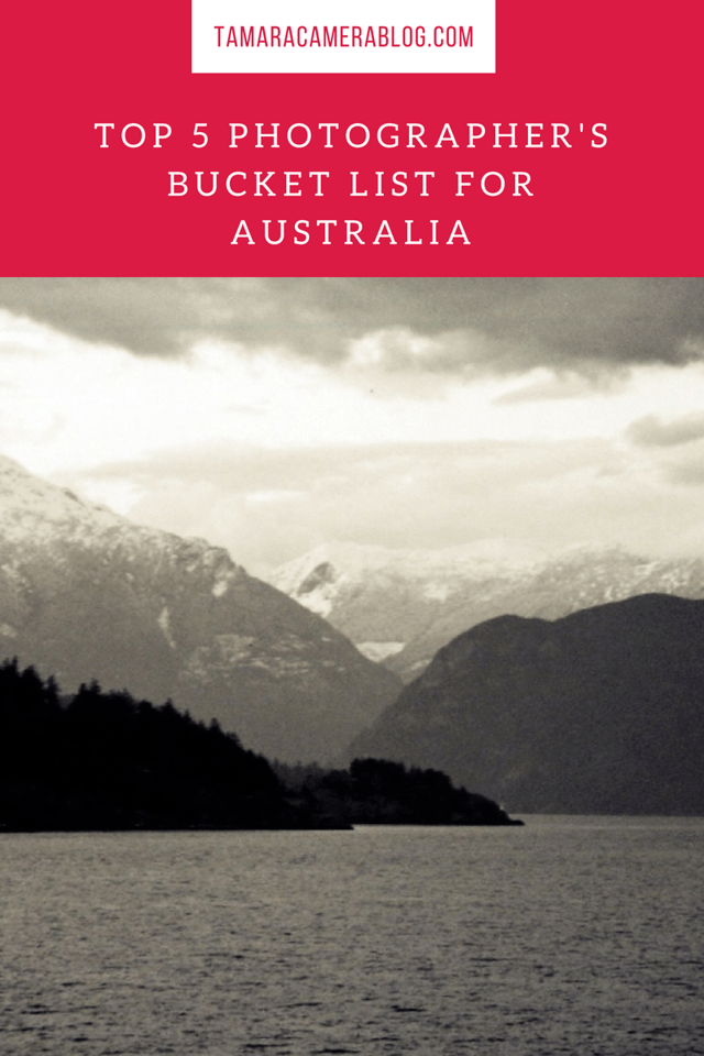 Here's my Top 5 Photographer's Bucket List For Australia, and how to get around to see all these wonderful places when you get there! #ad