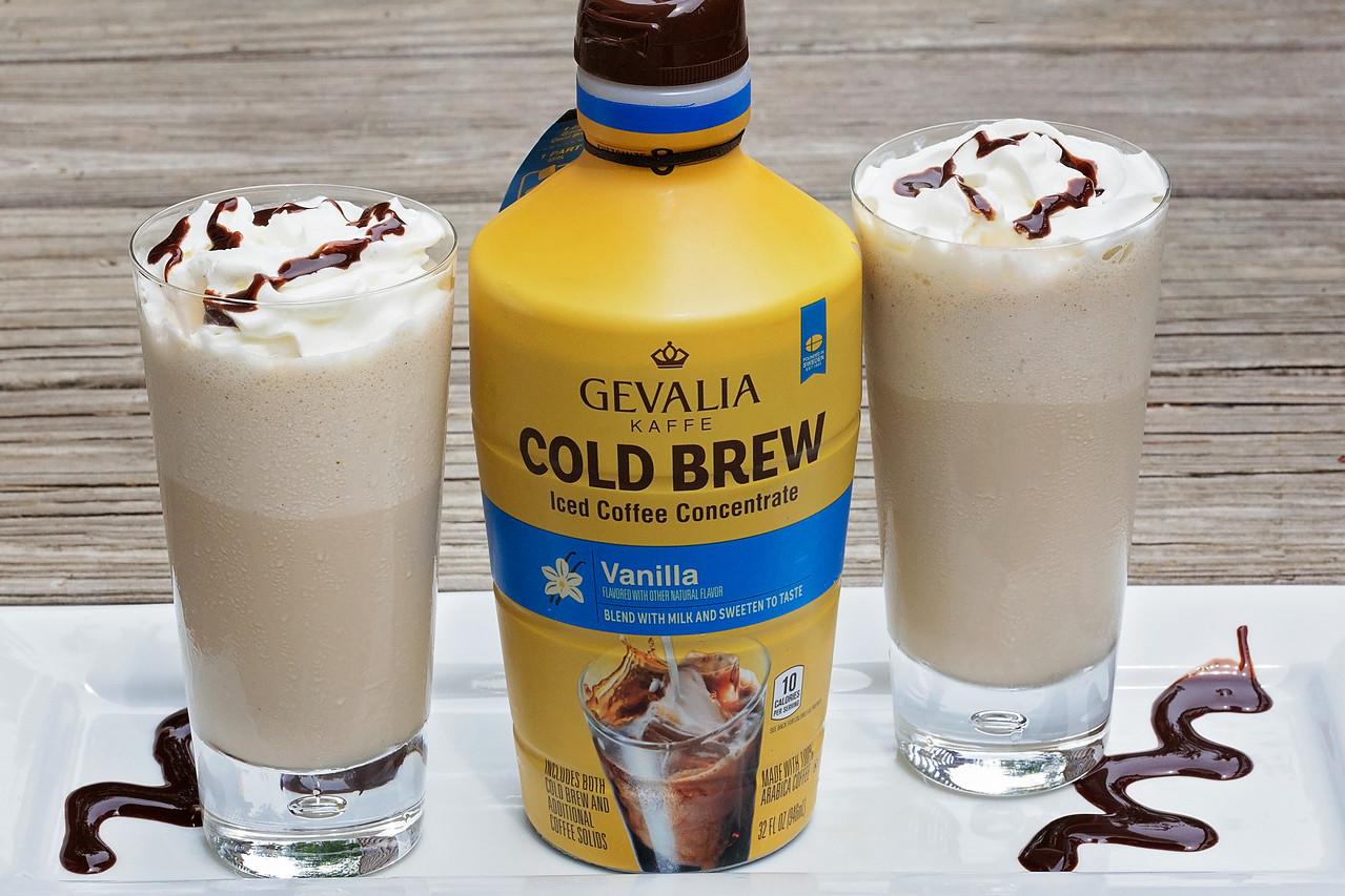 Vanilla Coffee Milkshakes