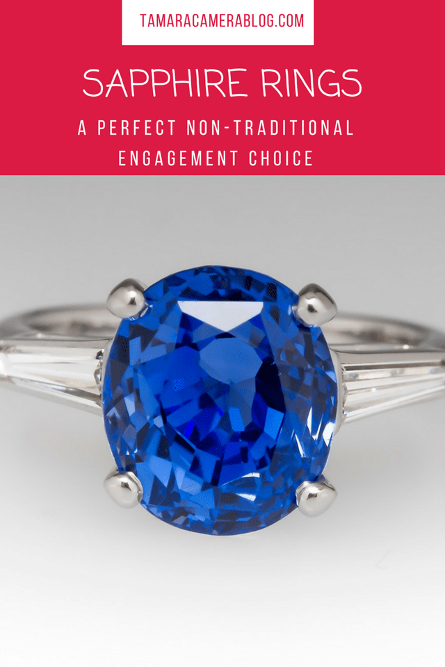 Have you checked out the beautiful stones from EraGem? Have you ever considered using sapphire rings as a non-traditional engagement choice? #Weddings #love
