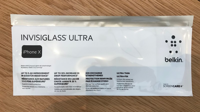 Belkin Tampered Glass Screen Protector