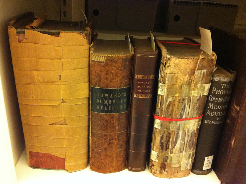 Howard's rare medical books at Wright State University Special Collections & Archives