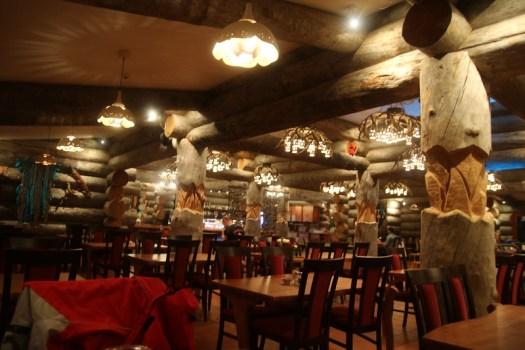 dining room in kakslauttanen