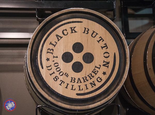 Commemorative Barrel at Black Button Distilling (©simon@myeclecticimages.com)