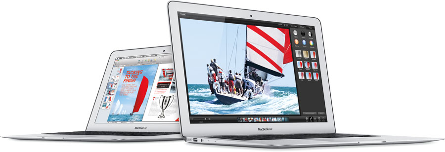 MacBook Air image courtesy Apple Inc.