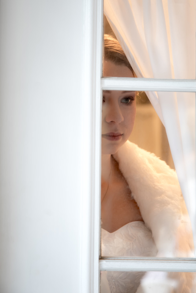 The serene bride, waiting for her next chapter to merge with her beloved.