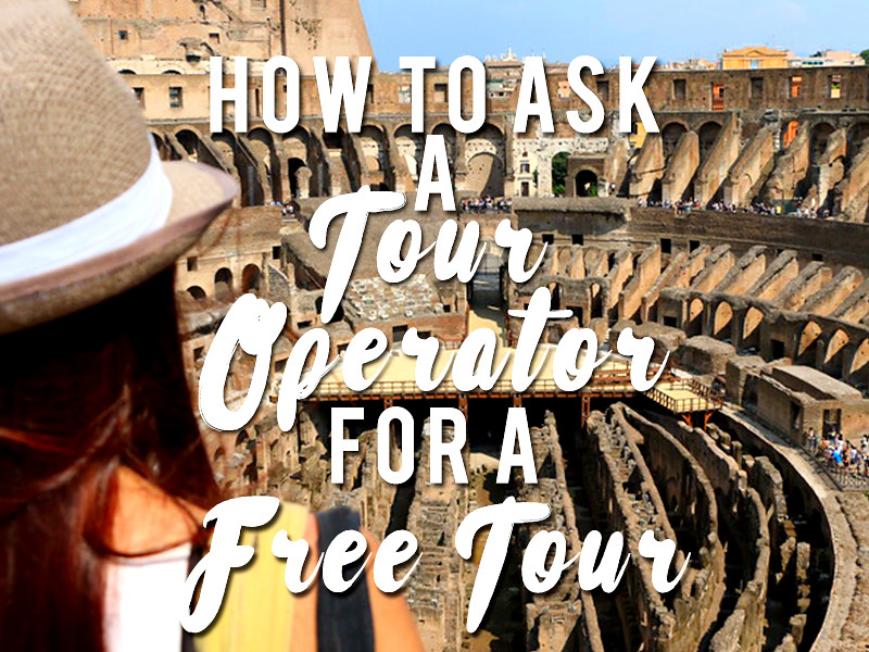How to ask a tour operator for a free tour