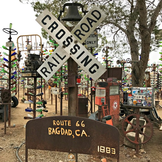 motorcycle road trip to elmers bottle tree ranch