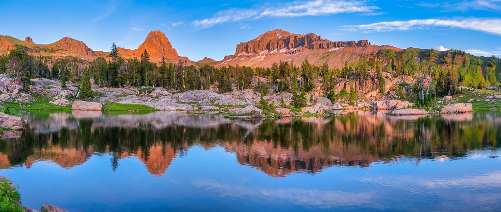 Teton Crest Trail Grand Teton National Park Wyoming Alaska Basin