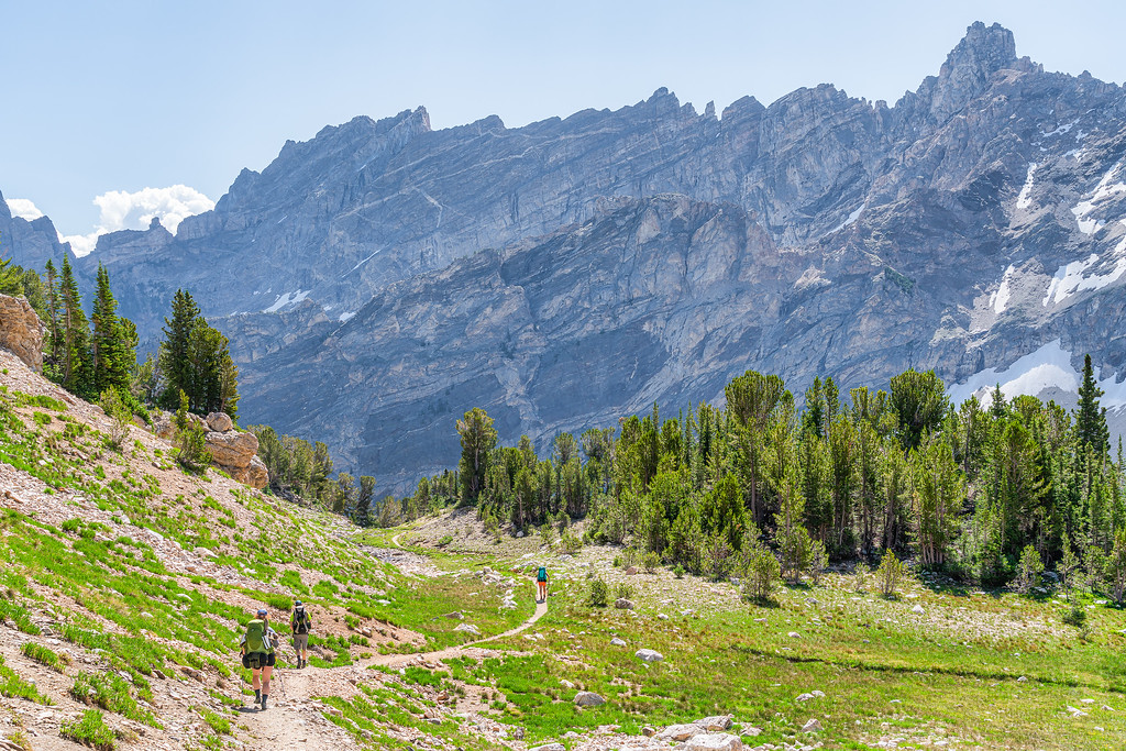 Paintbrush Canyon Grand Teton National Park Wyoming