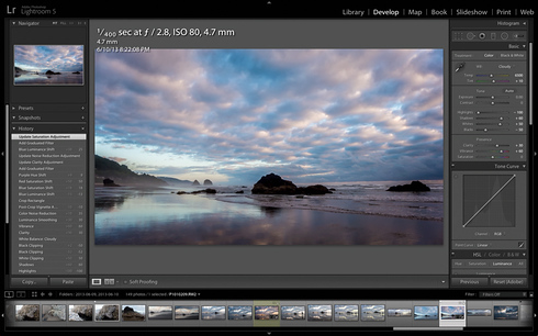 Adobe Photoshop Lightroom 5 Develop module