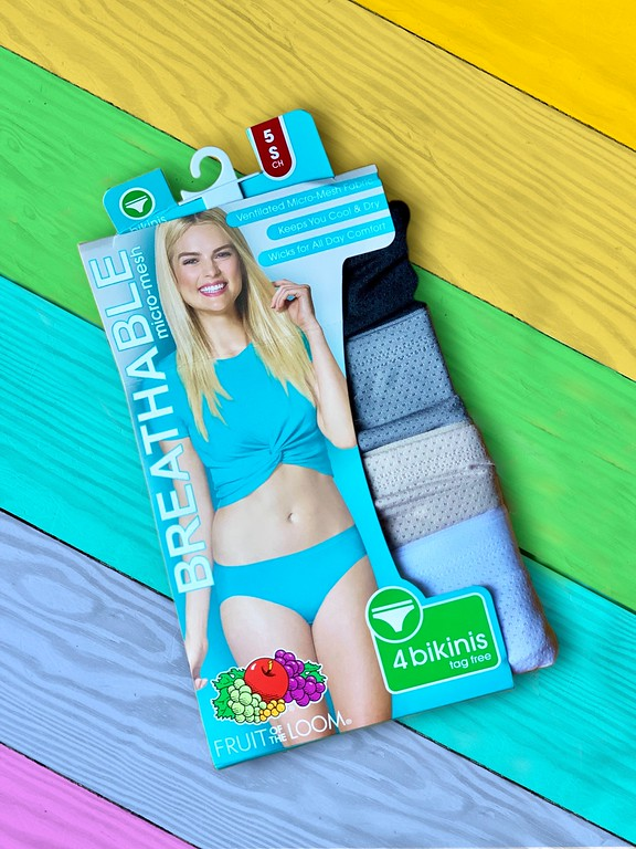 #ad You're going to love these Fruit of the Loom Breathable Micro-Mesh bikinis. They're the underwear you'll want this fall #BreatheIntoFall @FruitoftheLoom