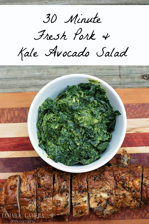 Hardwood Smoked Bacon & Cracked Black Pepper Tenderloin can be cooked to flavor perfection in only 30 minutes! Pair it with this easy kale avocado salad.
