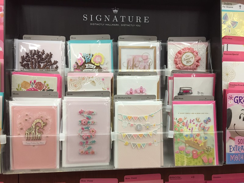 Hallmark Signature Mother's Day cards