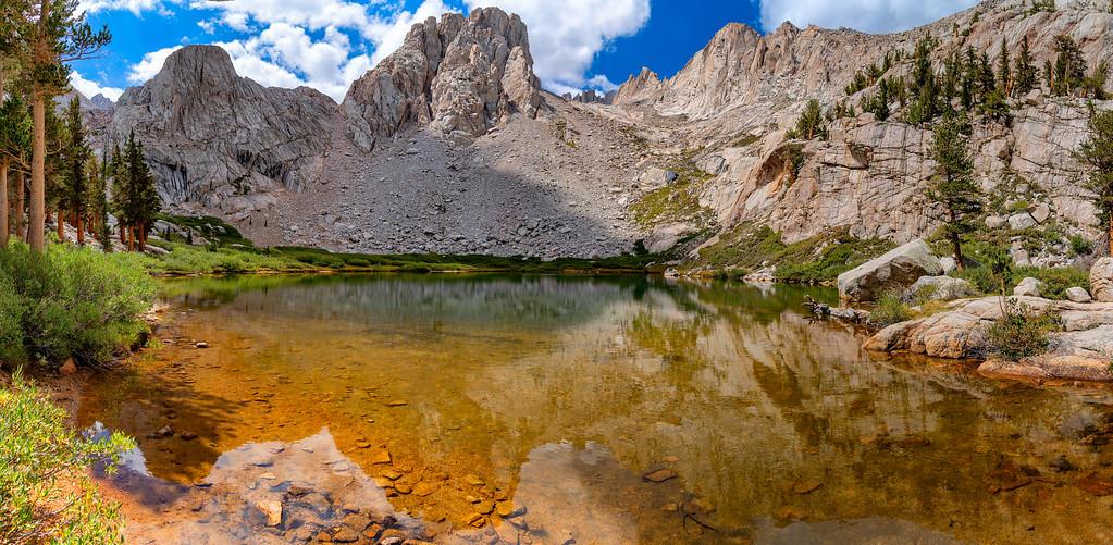 Summiting Mount Whitney High Sierra Trail California
