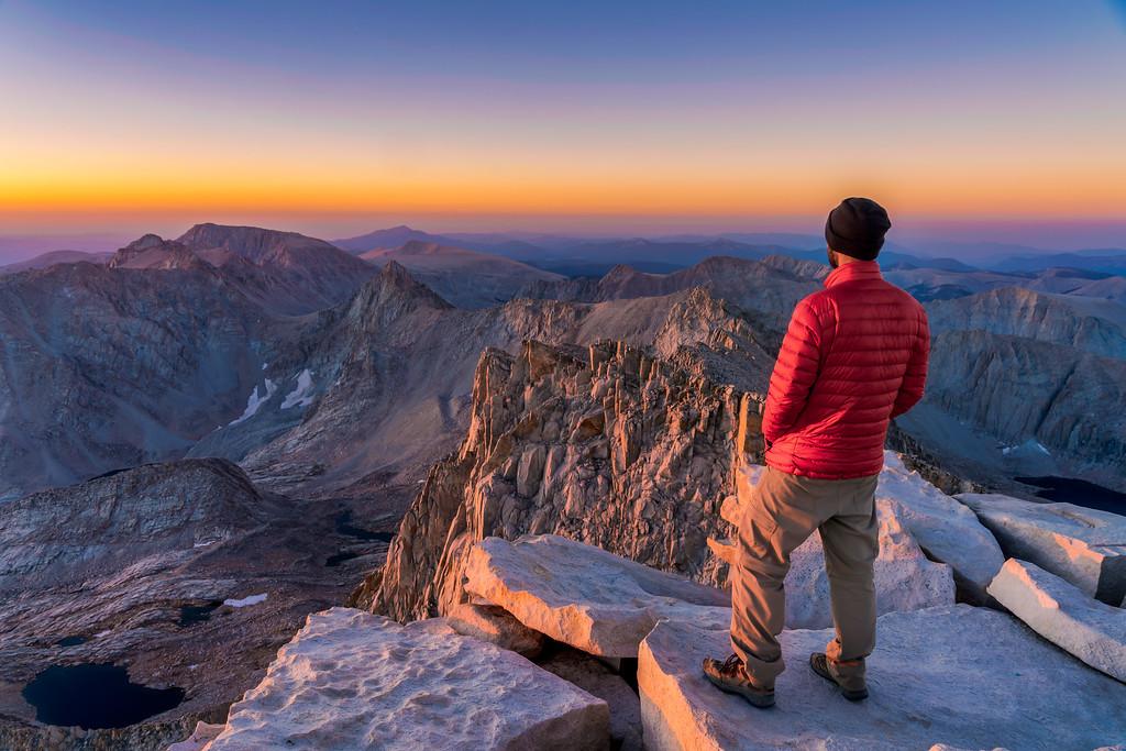 High Sierra Trail Sequoia National Park California
