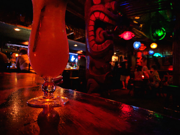 Things to do in Las Vegas - Frankie's Tiki Room interior