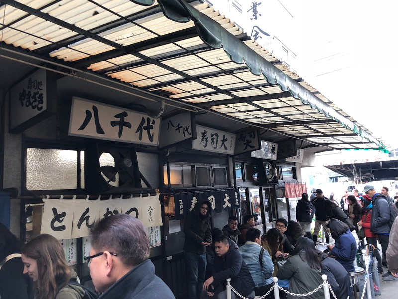 A Visit to Tsukiji Fish Market