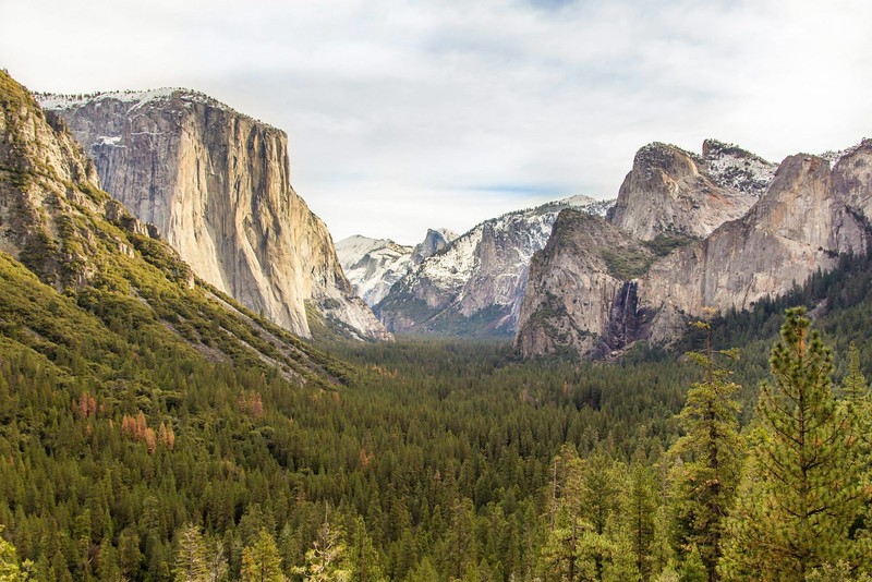 best hiking trails in california - half dome in yosemite