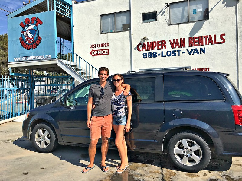 California road trip - Lost Campers USA