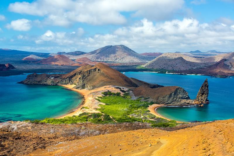 参观加拉帕戈斯群岛群岛——小岛群岛群岛群岛海岸