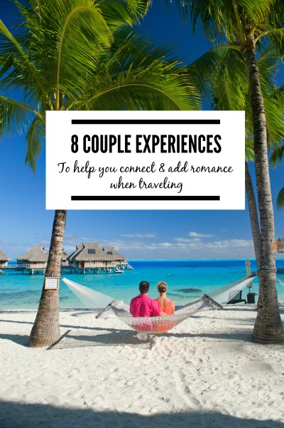 Traveling is a great way to take time out as a couple. Check out a few of the ways travel allows us to connect as a couple. | www.eatworktravel.com - The luxury, adventure couple!