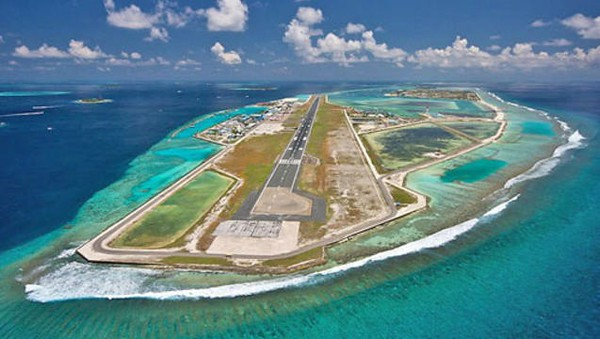 Maldives on a budget - Male airport