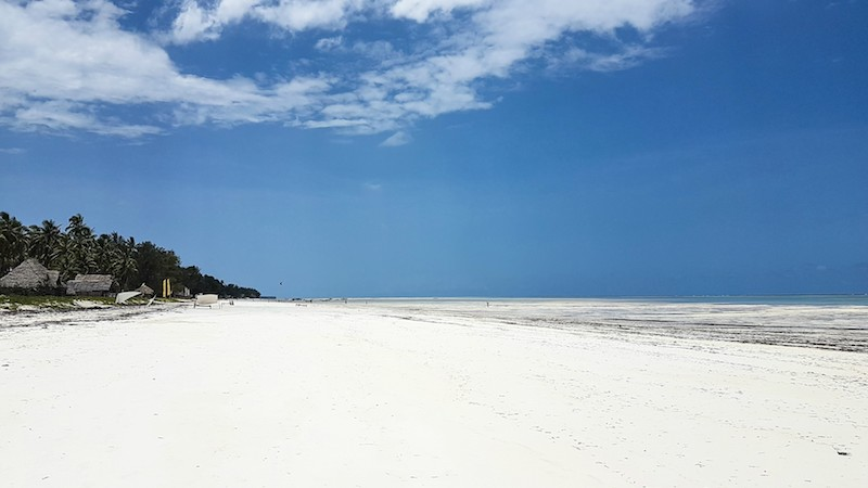 Trip to Zanzibar - Paje beach
