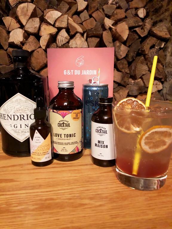 Monsieur Cocktail: G&T du Jardin, the cocktail of the moment. #DrinkOutsideTheBox