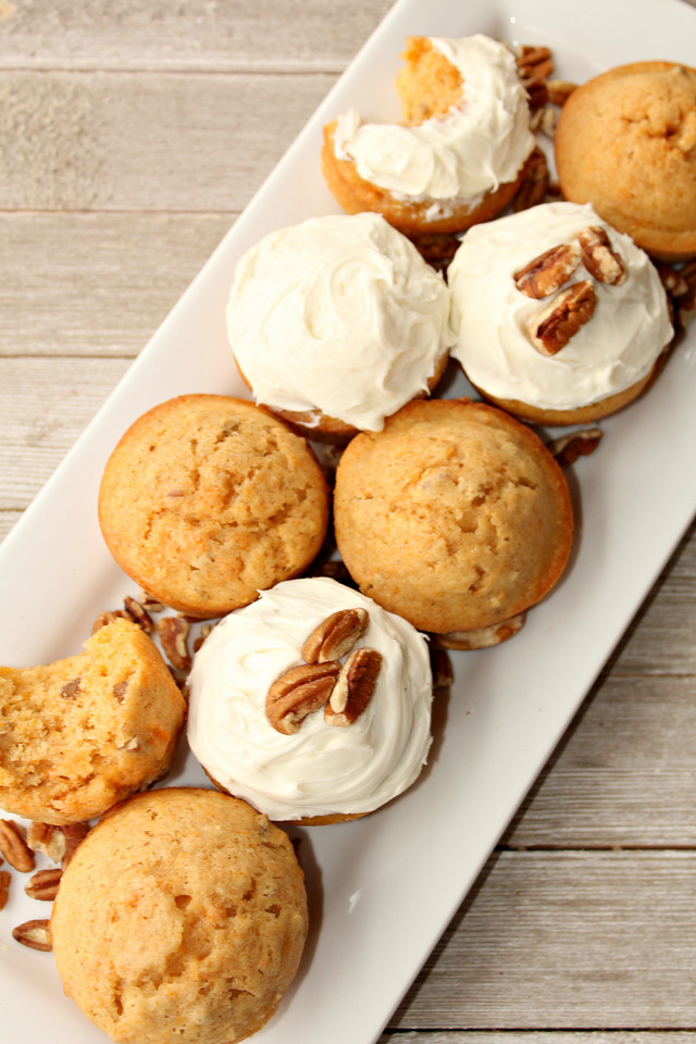 These Sweet Potato Pecan Muffins are perfect year-round, but are extra special on those days where you need a little comfort. And they're easy to make too! #recipe #muffins