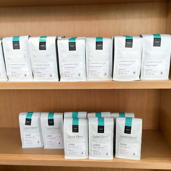 Ground coffee from Café Saint-Henri micro-torréfacteur in Québec City