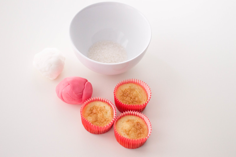 Candy Cane Cupcakes ingredients