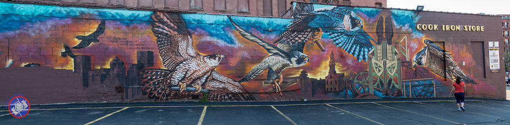 One of Several Murals Seen on the Rochester Pedal Tour (©simon@myeclecticimages.com)