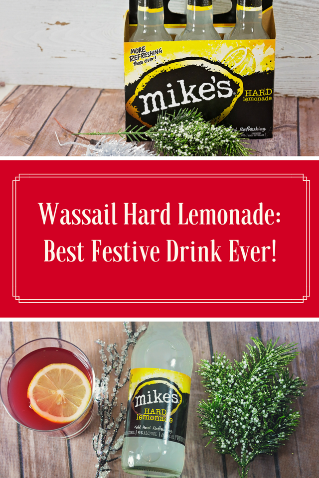 This is the most festive drink ever! We use our favorite Mike's Hard Lemonade and then we use awesome juices and spices #ad #MikesHard #DrinkOnTheBrightSide