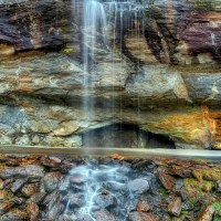 Bridal Veil Falls (Highlands, North Carolina)