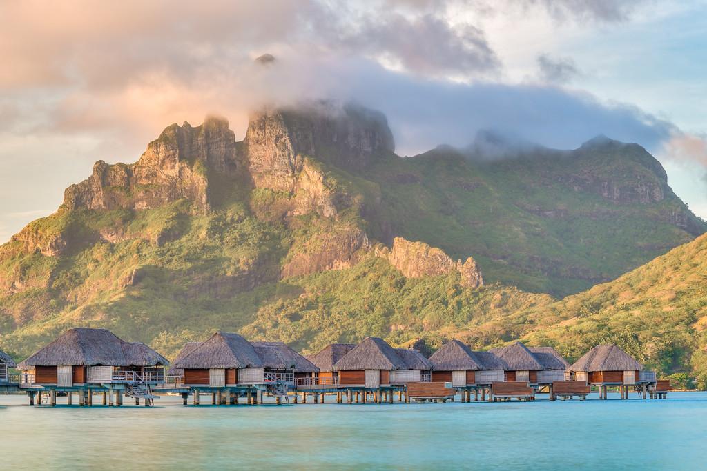 Four Seasons Resort Bora Bora Overwater Bungalows French Polynesia Tahiti