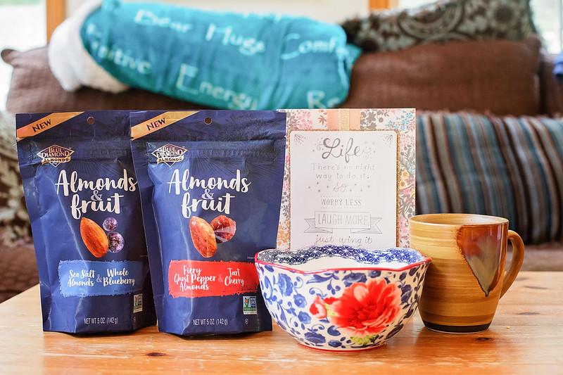 almonds & fruit