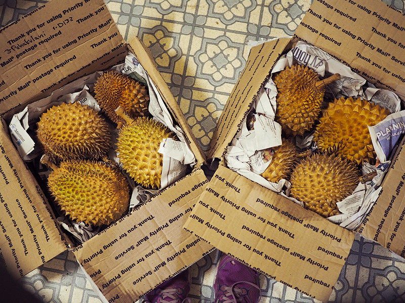 mailing durian