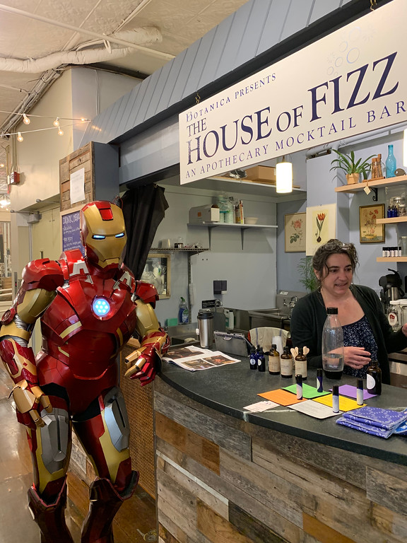 Iron Man at House of Fizz