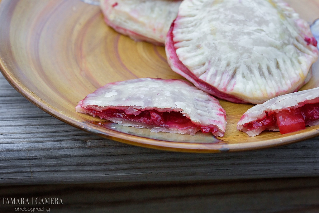 Ooey Gooey Raspberry Apple Pocket Pies