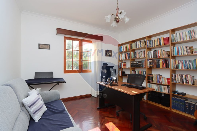 Currently, an office at the front of the house
