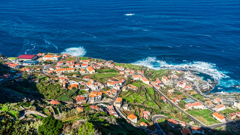 Looking Over Porto Moniz in the Northwest Corner of Madeira (©simon@myeclecticimages.com)
