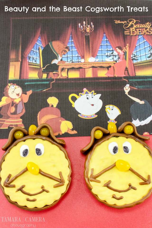 Do you have kids? Are you planning a party? This #recipe for Cogsworth Treats from #BeautyandtheBeast is the perfect #party recipe! And it's easy to do too!